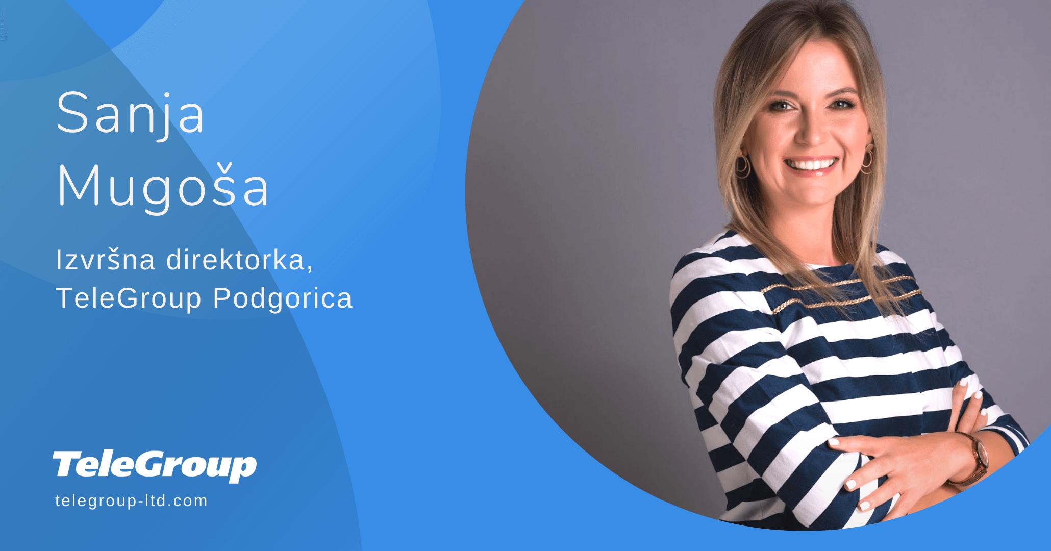 Tim TeleGroup Podgorice pojačan novim vođstvom od 15. septembra