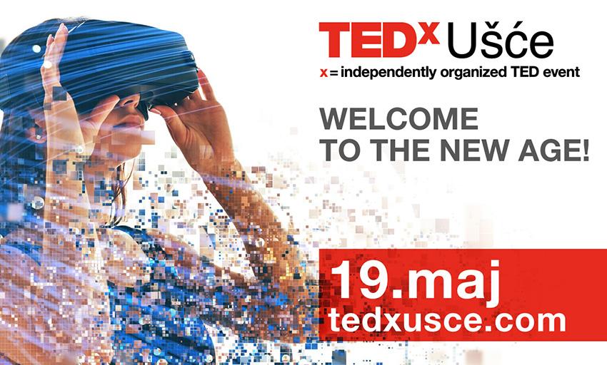 Šta nam donosi novo doba? Saznajte na TEDxUšće 2019 konferenciji!