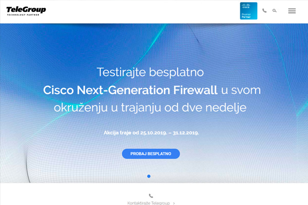 Testirajte besplatno Cisco Next-Generation Firewall