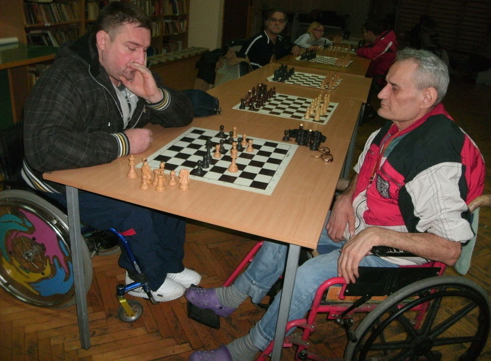 TeleGroup helped in the purchase of chess books for the blind and weak-sighted