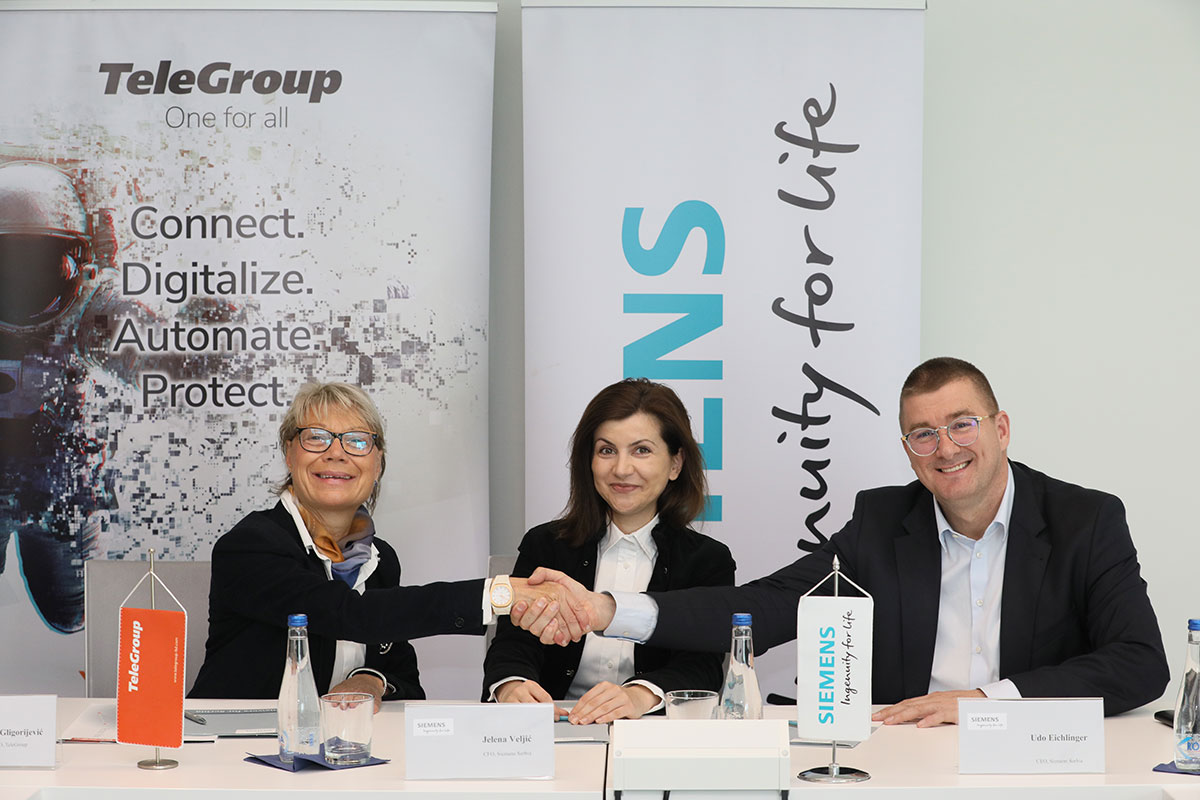 Siemens and TeleGroup signed Memorandum of Understanding