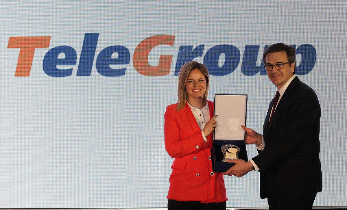 "TeleGroup ponosni dobitnik Nacionalne nagrade za društveno odgovorno poslovanje ""Đorđe Vajfert"""
