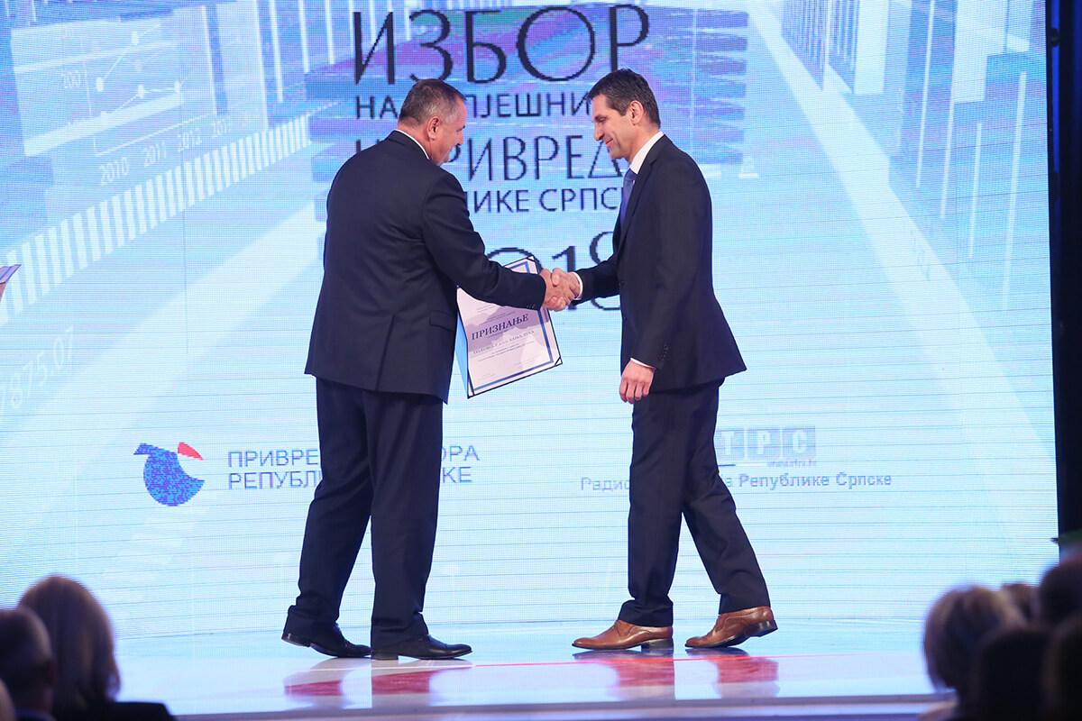 TeleGroup Banjaluka među najuspešnijim kompanijama u Republici Srpskoj za 2018. godinu