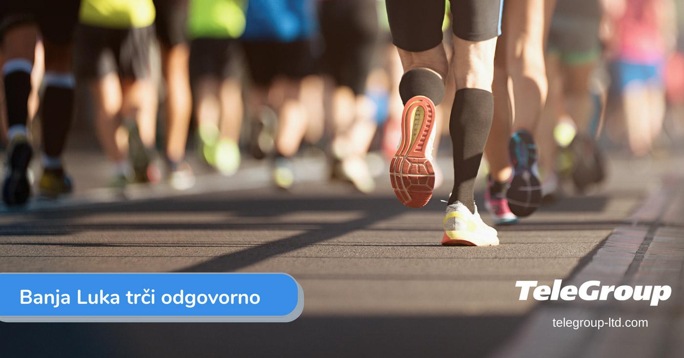 TeleGroup i ove godine podržao održavanje banjalučkog polumaratona