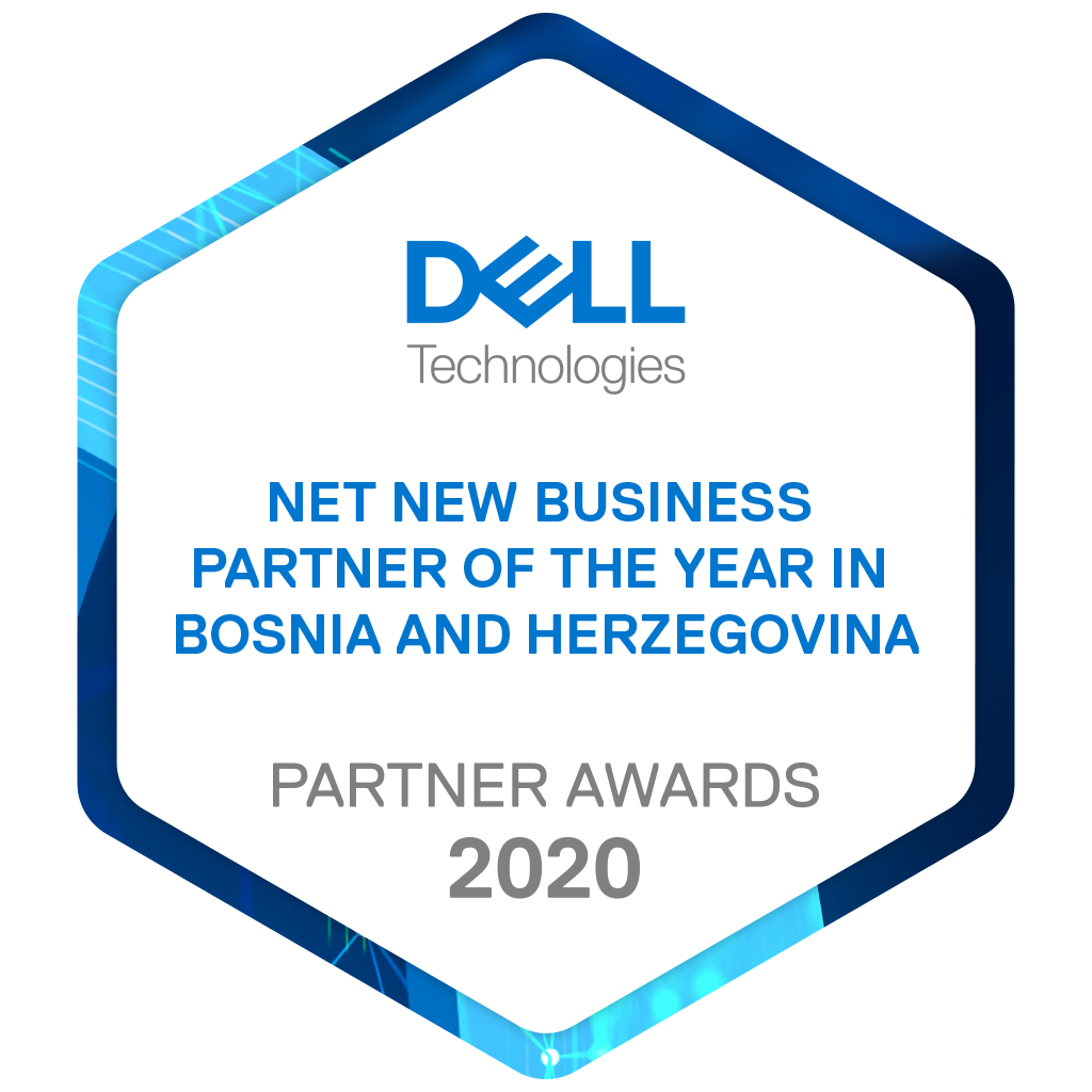 TeleGroup dobitnik nagrade Dell Technologies Net New Business Partner of the Year za teritoriju Bosne i Hercegovine