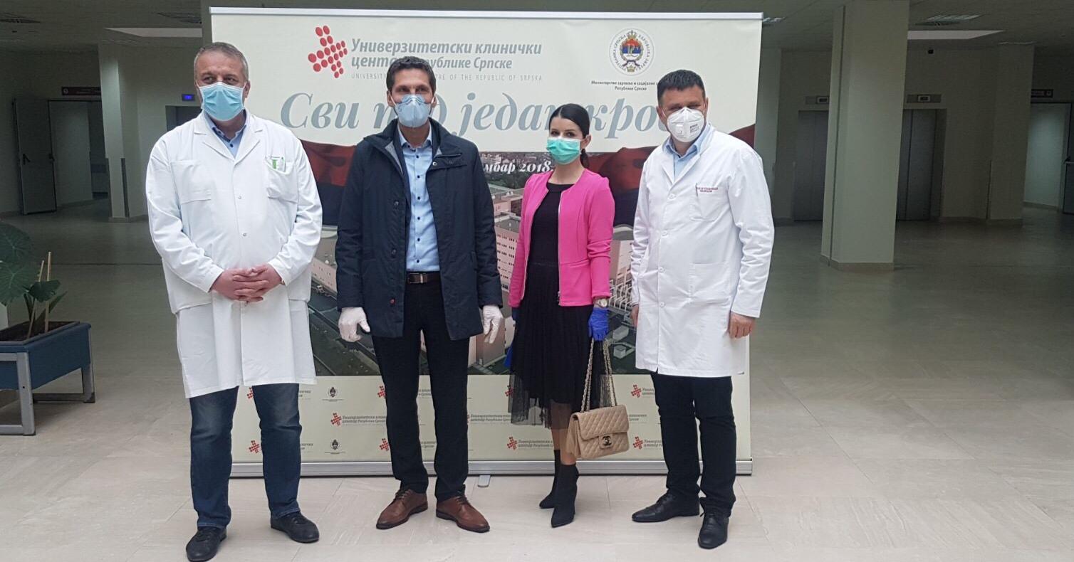 TeleGroup Banja Luka obezbjedila dezinfekciona sredstva Univerzitetsko kliničkom centru Republike Srpske, a biznis korisnicima omogućila besplatne alate za rad od kuće