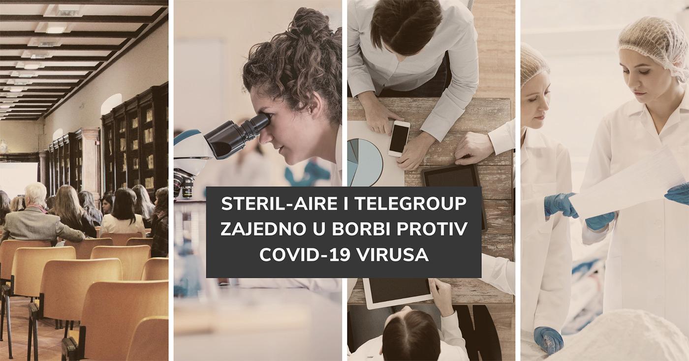 TeleGroup postao ekskluzivni distributer kompanije Steril-Aire