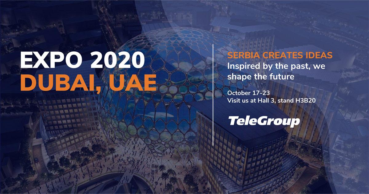 TeleGroup na Expo 2020 Dubai