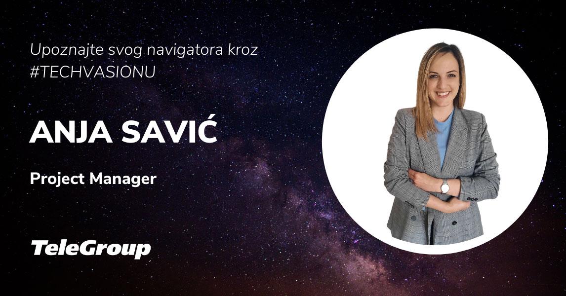 Projektni menadžment u 21. veku iz ugla naše Anje Savić