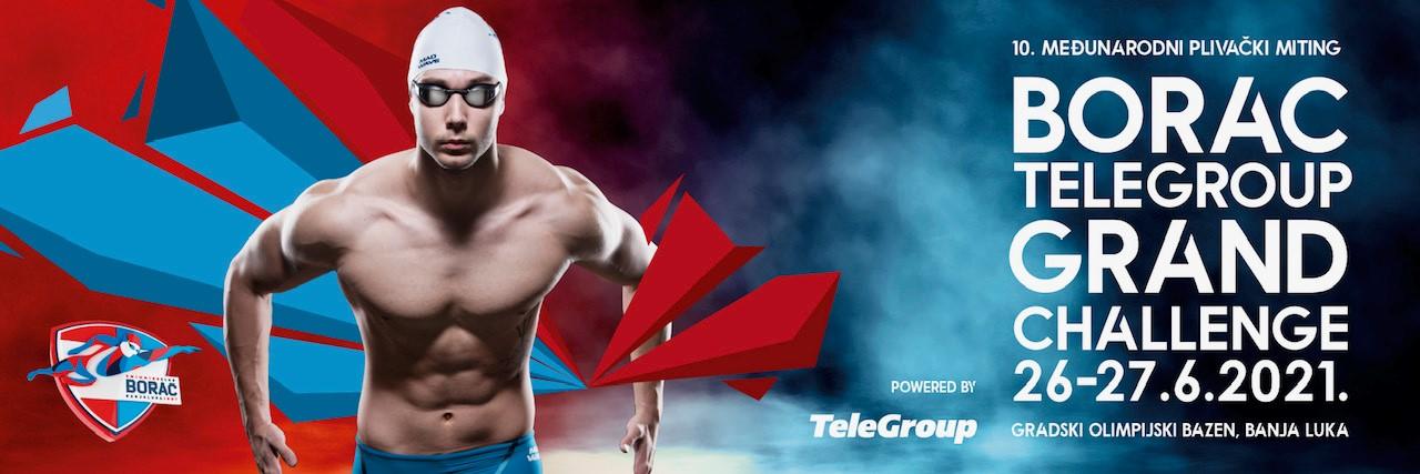 TeleGroup generalni sponzor Međunarodnog plivačkog mitinga Borac Grand Challenge 2021