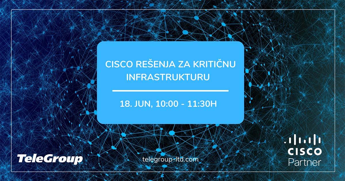Cisco rešenja za kritičnu infrastrukturu