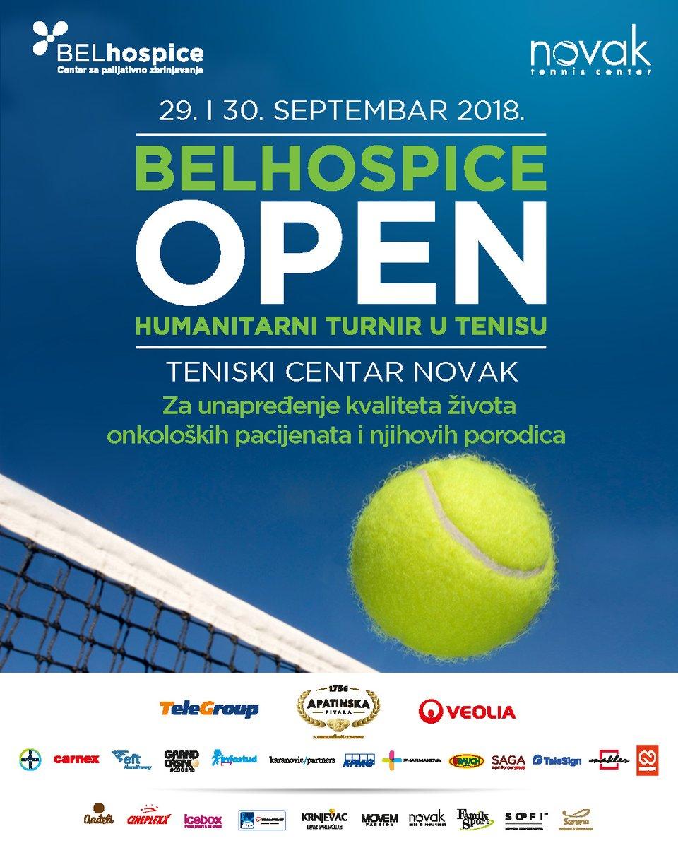 TeleGroup ponosni učesnik BELhospice humanitarnog turnira u tenisu