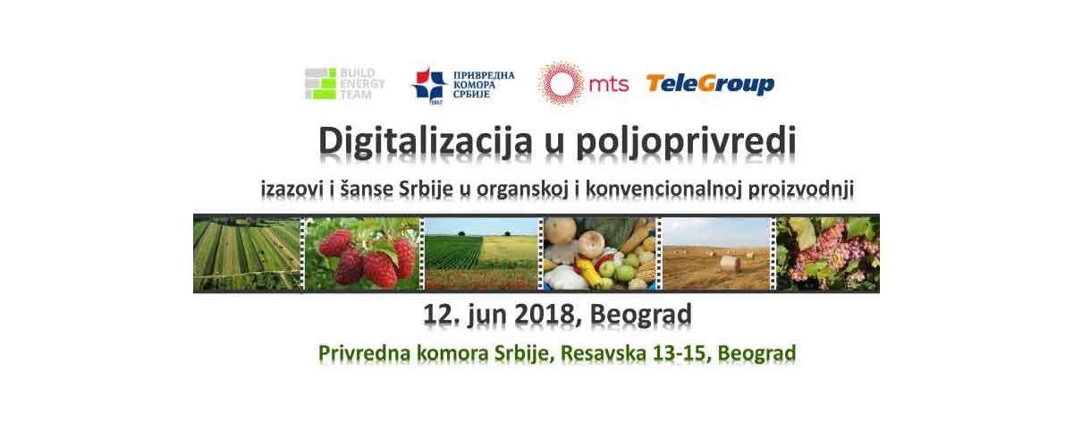 TeleGroup učesnik konferencije Digitalizacija u poljoprivredi