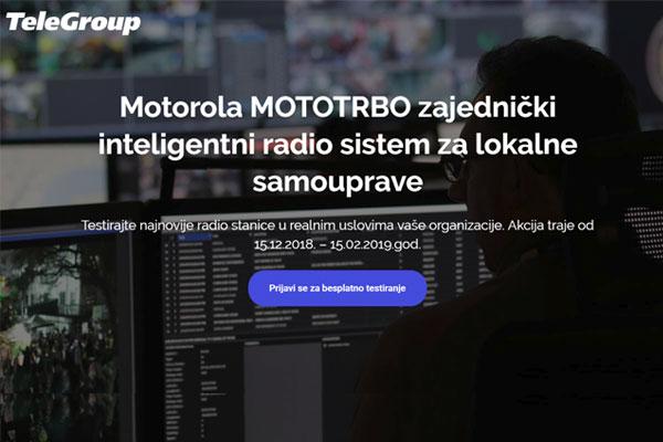 Motorola rešenja za lokalne samouprave